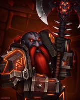 Dark Iron Dwarf by Medervik