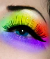Rainbow eye by Perfect666