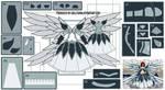 Erza Scarlet HWA Cosplay Design Draft