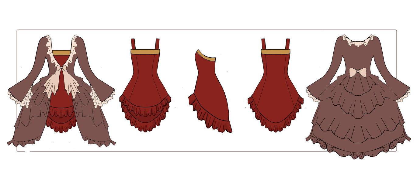 Rin Kagamine Outfit Kagamine Rin Dress w Dress