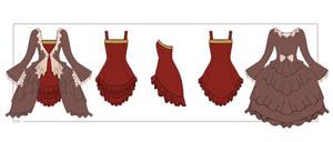 Kagamine Rin Dress w/ Dress Coat Profile