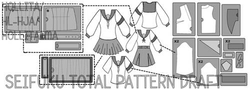 Pattern draft preview