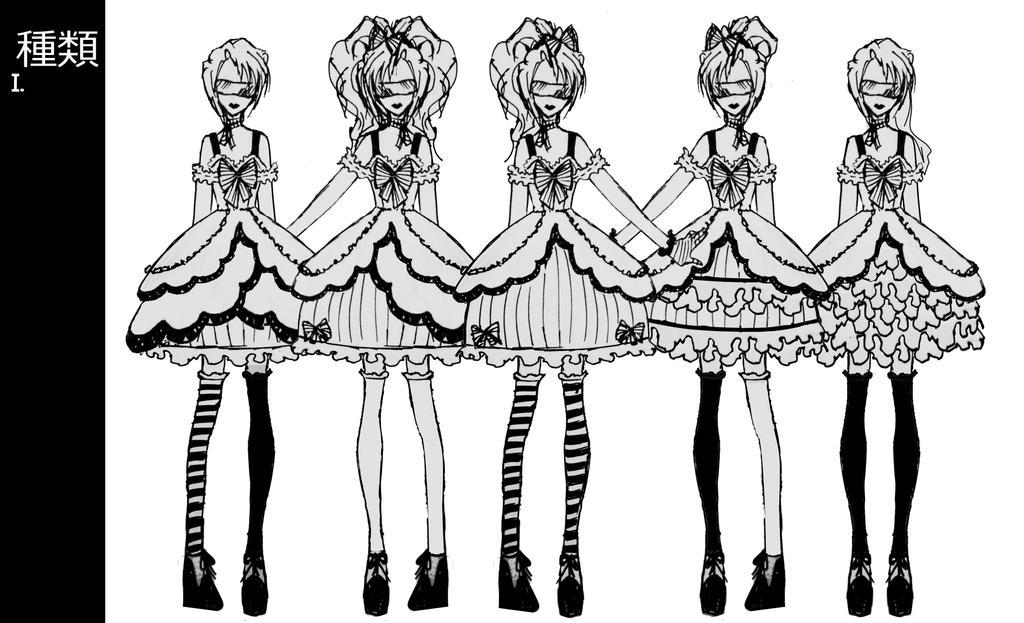 Mise en Mignon/Kaivo Lolita collection 1 part 1 by Hollitaima