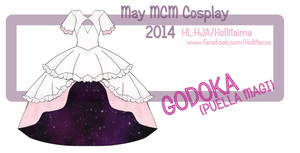 Godoka Cosplay Design Draft
