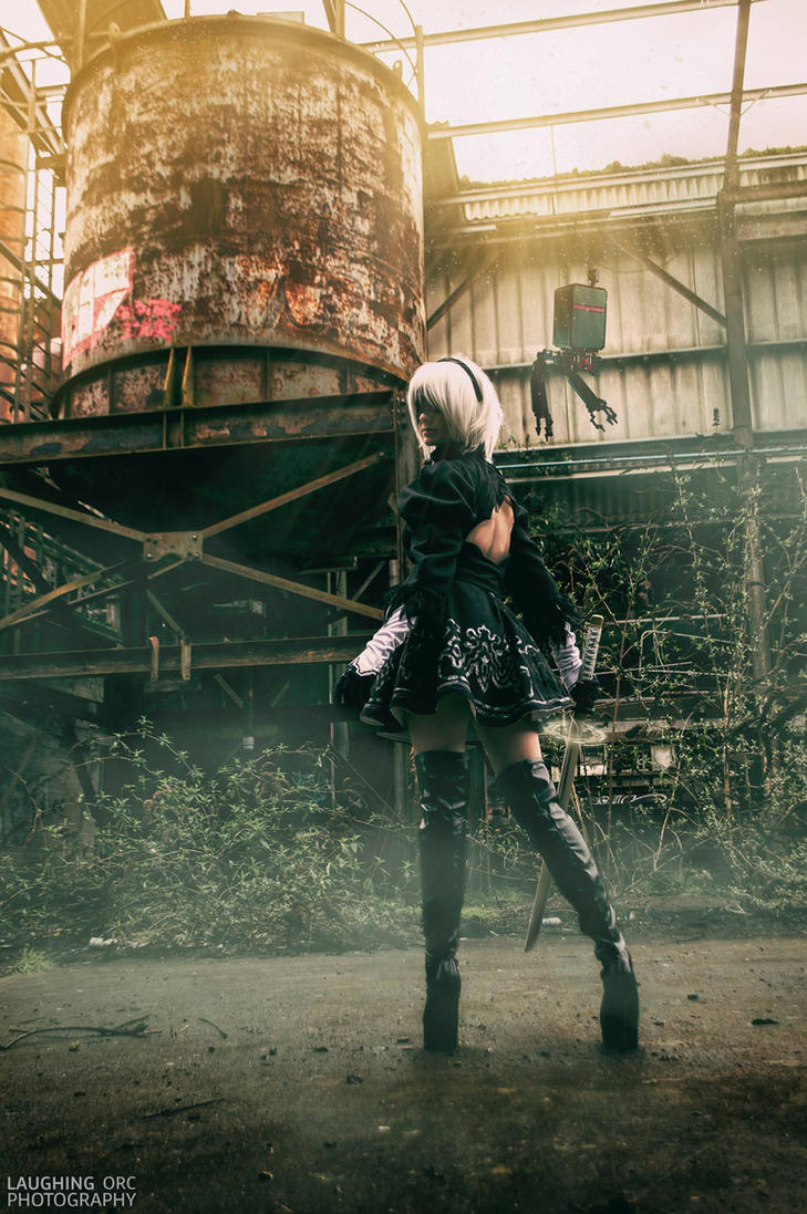 NieR: Automata YoRHa No.2 Type B Back by Hollitaima