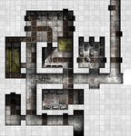 Arkay Manor Basement Labs - Main Complex Area