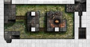Arkay Manor Basement Labs - Frozen Otyugh Pit