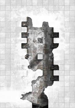 Arkay Manor Basement Labs - Frozen Drake Eyrie