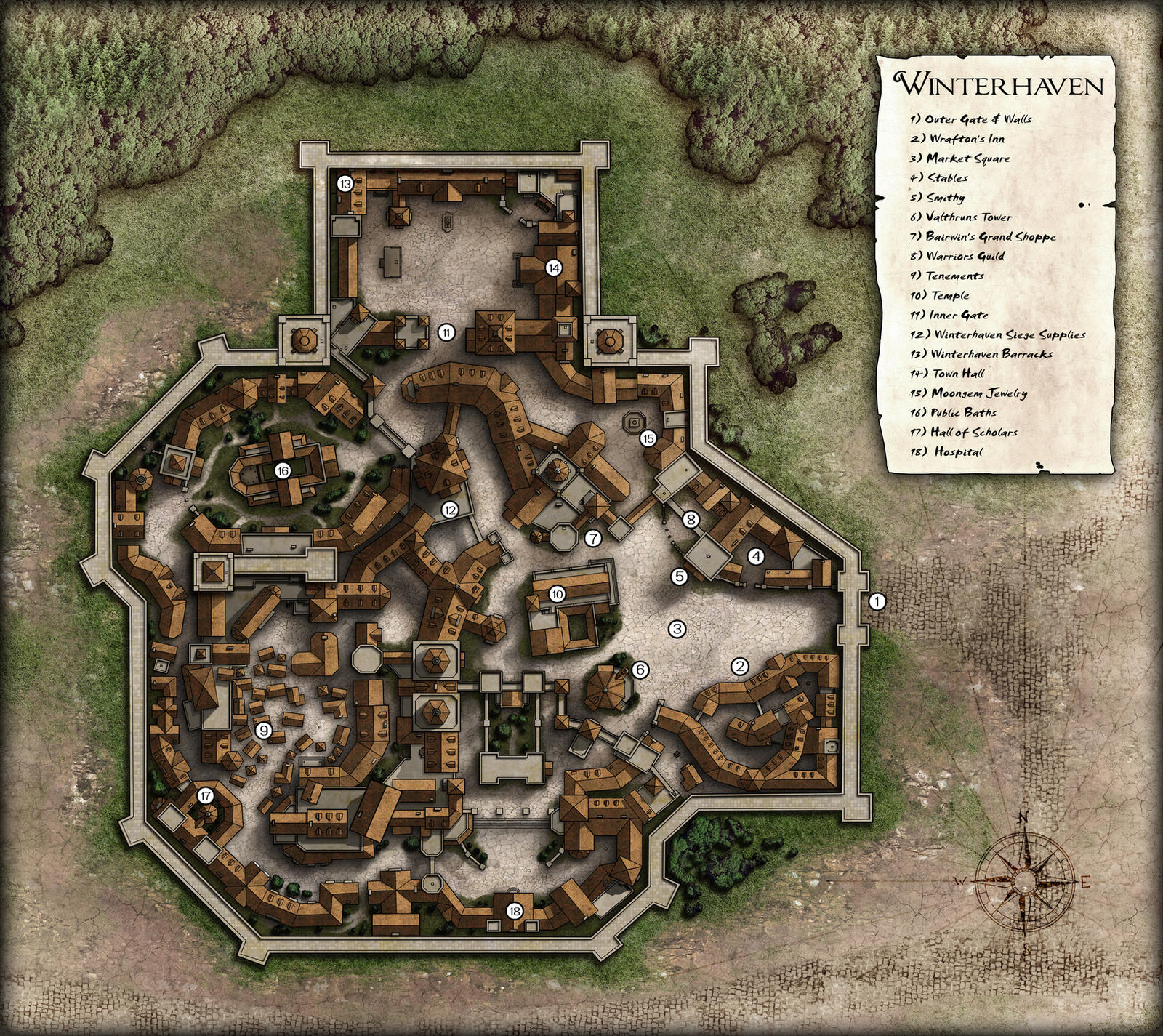 Winterhaven Map (revised) by dasomerville