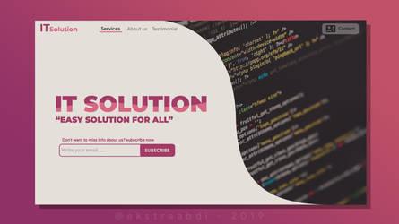 UI Design - Landing Page by ekstraabdi