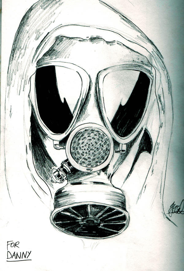 gallery zombie gas mask drawings