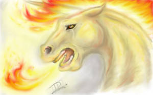 A wild fucking insane Rapidash appeared.