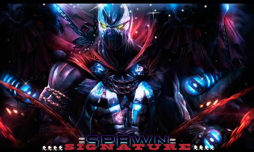 Spawn signature by Pajaroespin