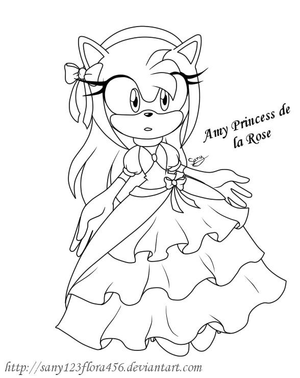 Princess Rose Coloring Pages : Amy princess de la rose by xxsunny bluexx on deviantart