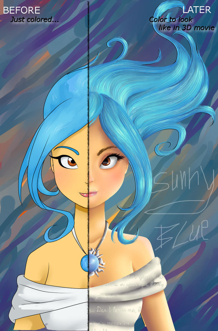 Sunny Blue -Before, After by xXSunny-BlueXx