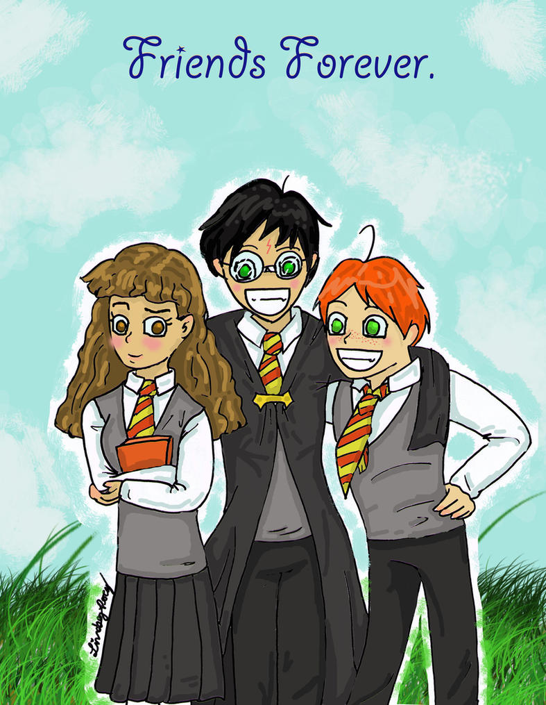 Harry Potter en Anime. Harry_potter_anime_____colored_by_shadow4everandaday-d33f4fu
