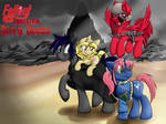Fallout Equestria: Dirty Deeds Cover (Commission)
