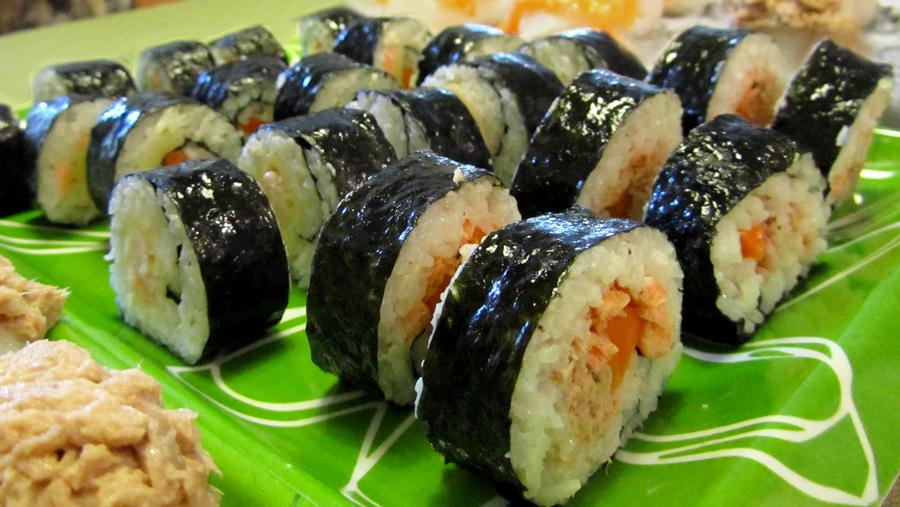 Homemade Asian style - Kimbap by Neidonkorento