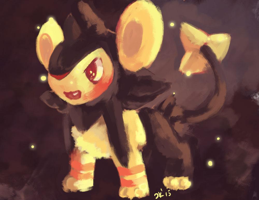 Pokemon Shiny Luxio Images | Pokemon Images