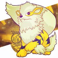 Pokemon Shiny Arcanine
