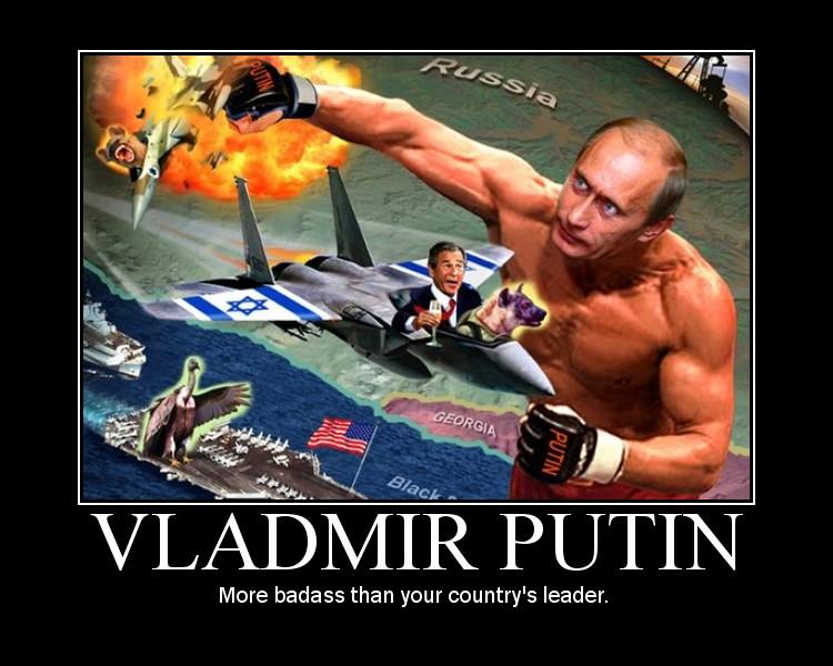 Putin Motivator By GenghisQuan