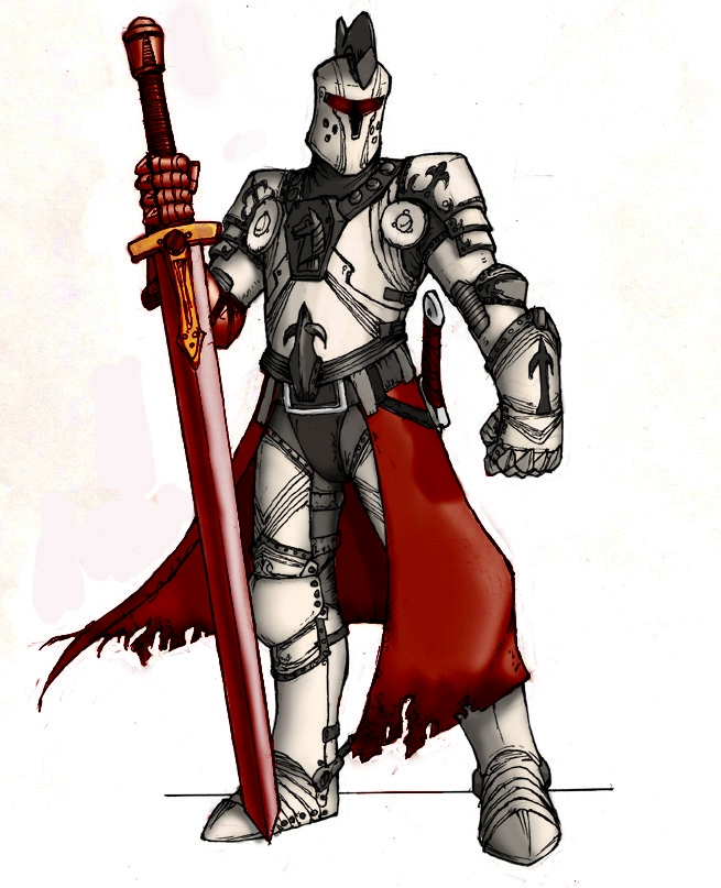 Blood Knight by ShadowShogun50