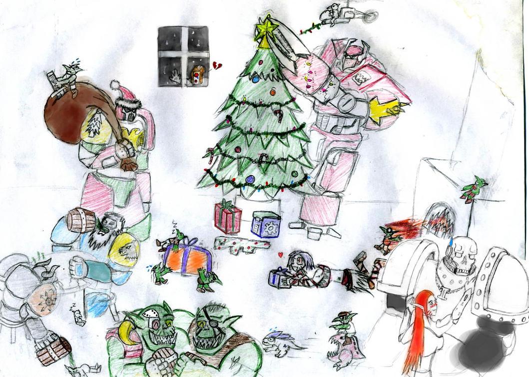 Warhammer Christmas by ShadowShogun50 on DeviantArt