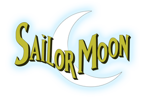 DiC Sailor Moon Logo (Glowed) by Mikey186