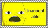 'Unacceptable' Stamp by Mikey186
