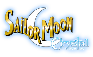 Sailor Moon Crystal DiC logo (Glowed) by Mikey186