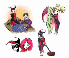 Lil' villains by J0801