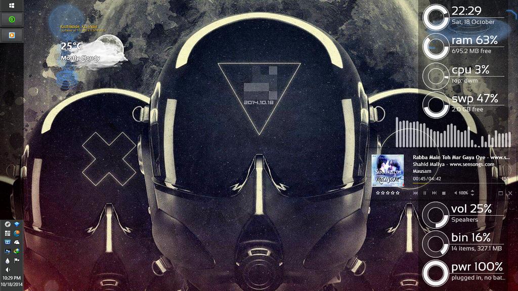 First custom Desktop by MEpremjith