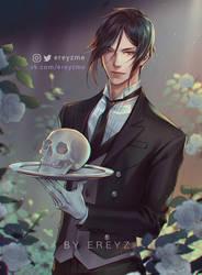 Sebastian Michaelis - Black Butler by Ereyz