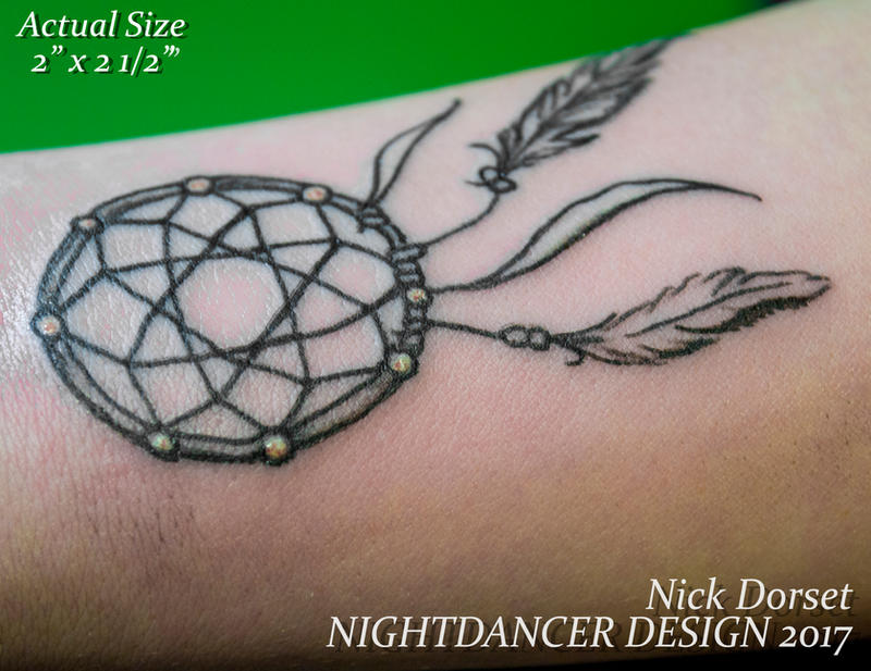 3-12-17 KCole Wrist Dreamcatcher by Reanimated4now