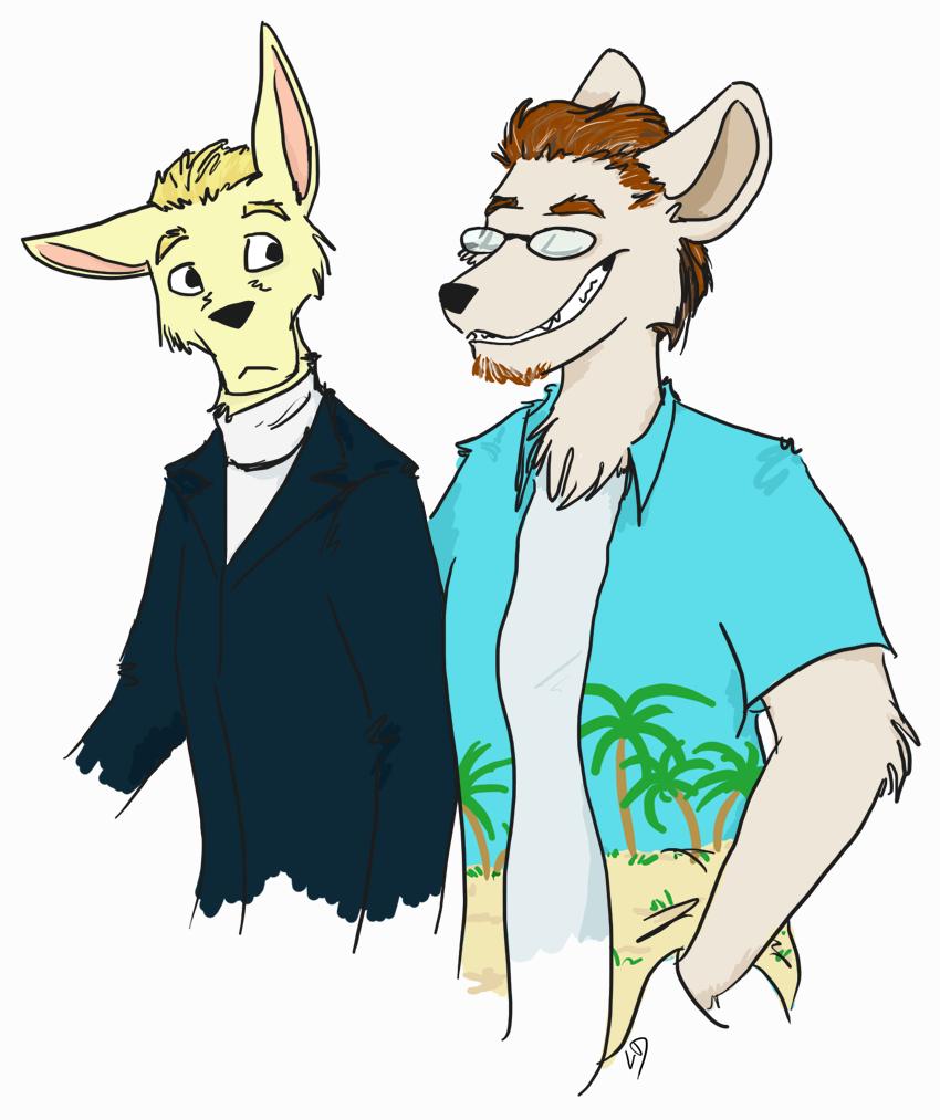 Scott and Bob by LorinaDante