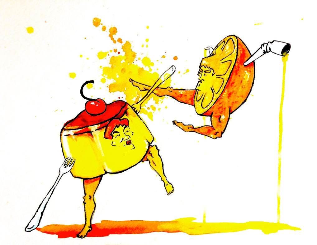 Jackie Flan vs. Juice Lee by ZippyJ