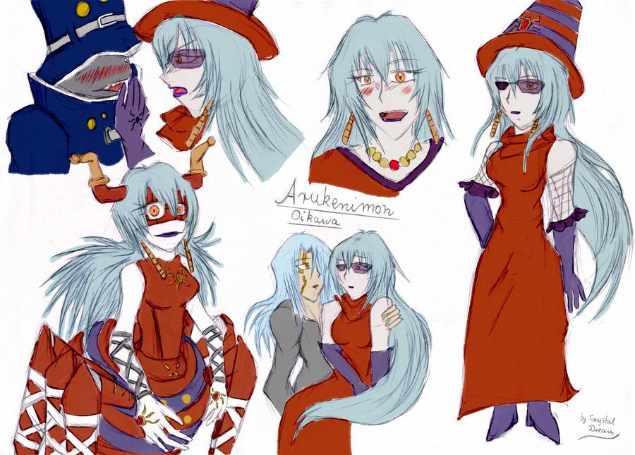 YSSWG Profile Arukenimon by Crystal-Dream