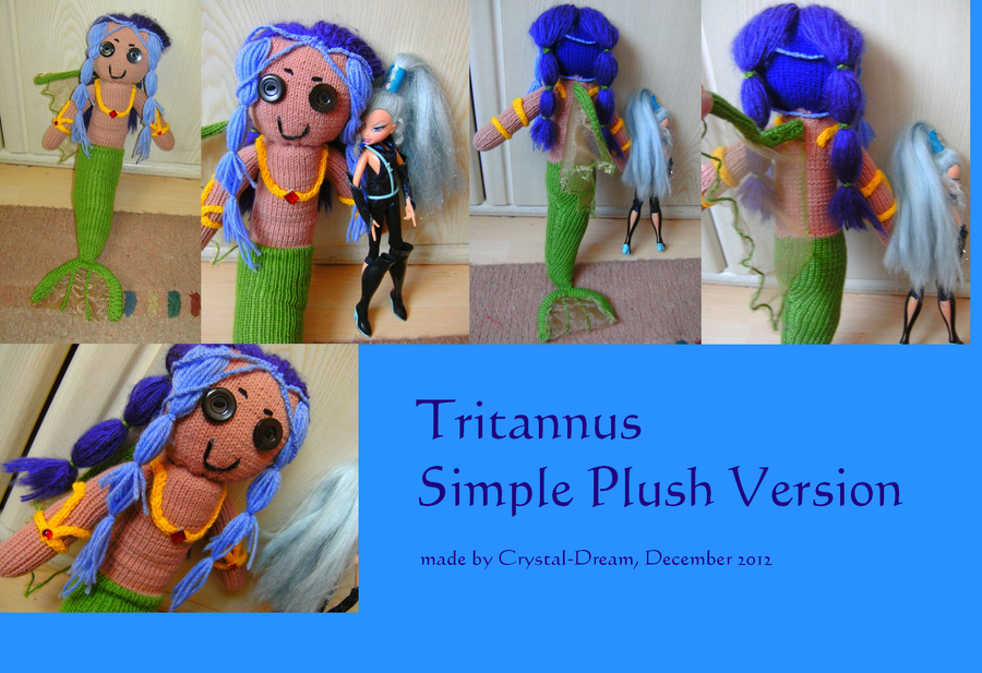 Tritannus Simple Plush Version by Crystal-Dream