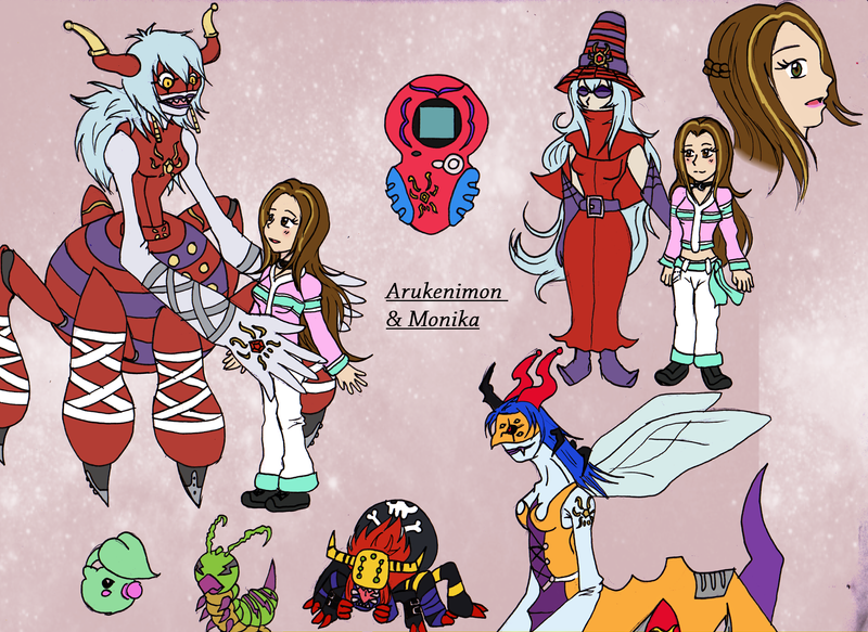 Digimon Afterwards - Arukenimon Profile by Crystal-Dream