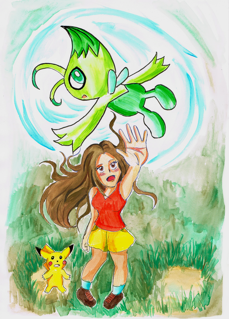 The Celebi that flew away by Crystal-Dream