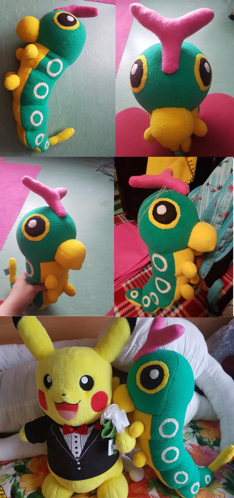 Pokemon Caterpie Plush Images