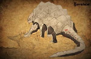 RWBY Bestiary: Terratoise by Demize00Zero