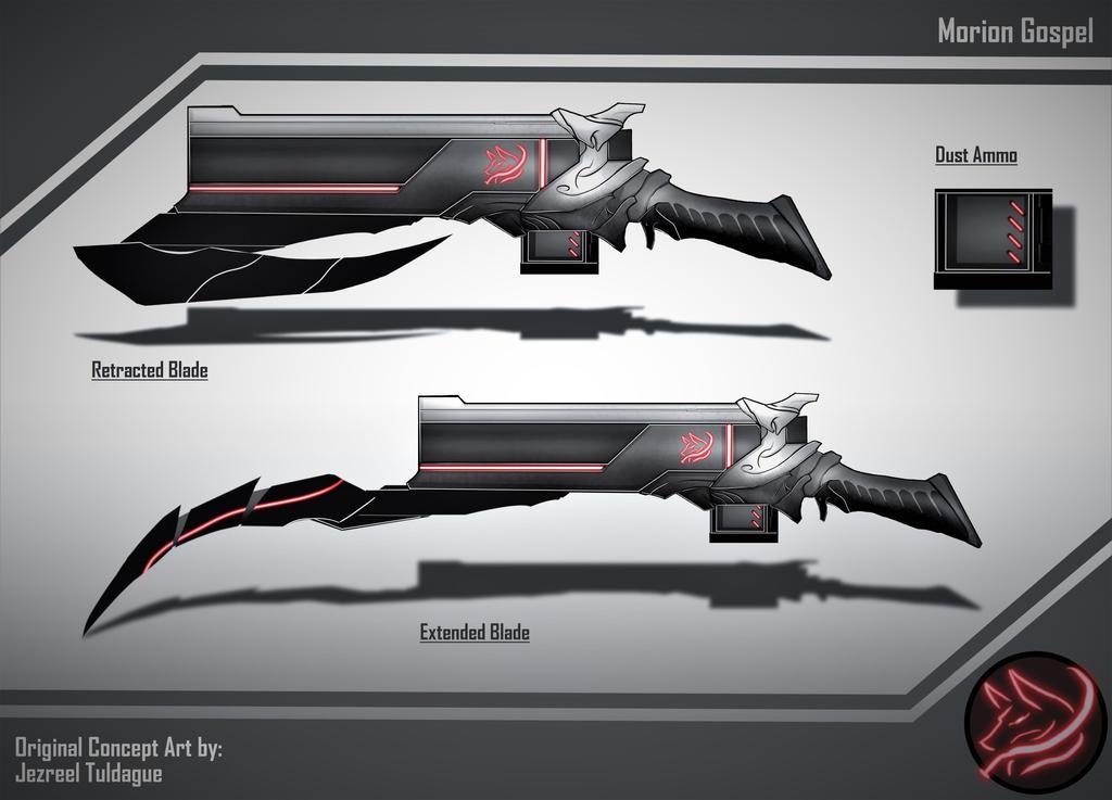 OC Weapon Design: Morion Gospel by Demize00Zero