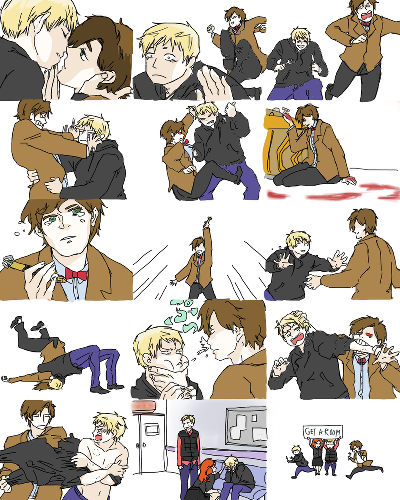 doctor_who__kiss_and__spit_meme_by_luffyu d5feacz doctor who kiss and spit meme by luffyu on deviantart