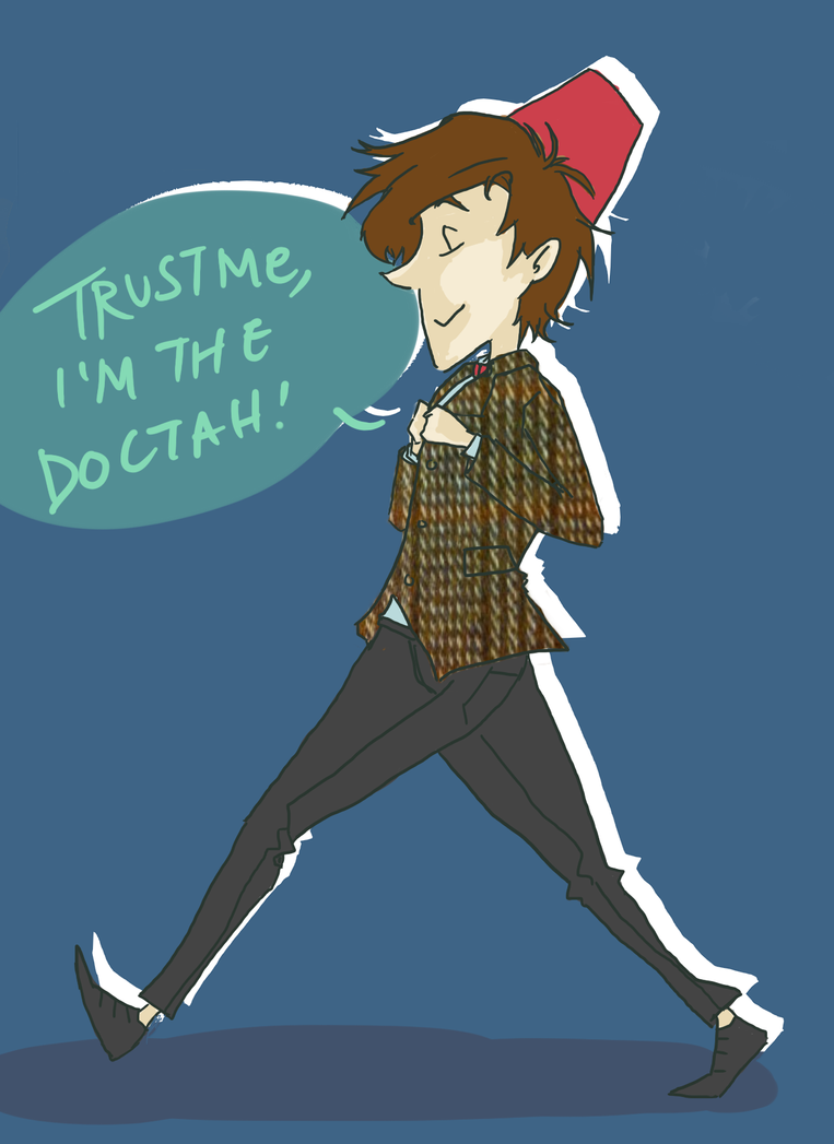 Doctor Who: I'm The Doctah by LuffYu