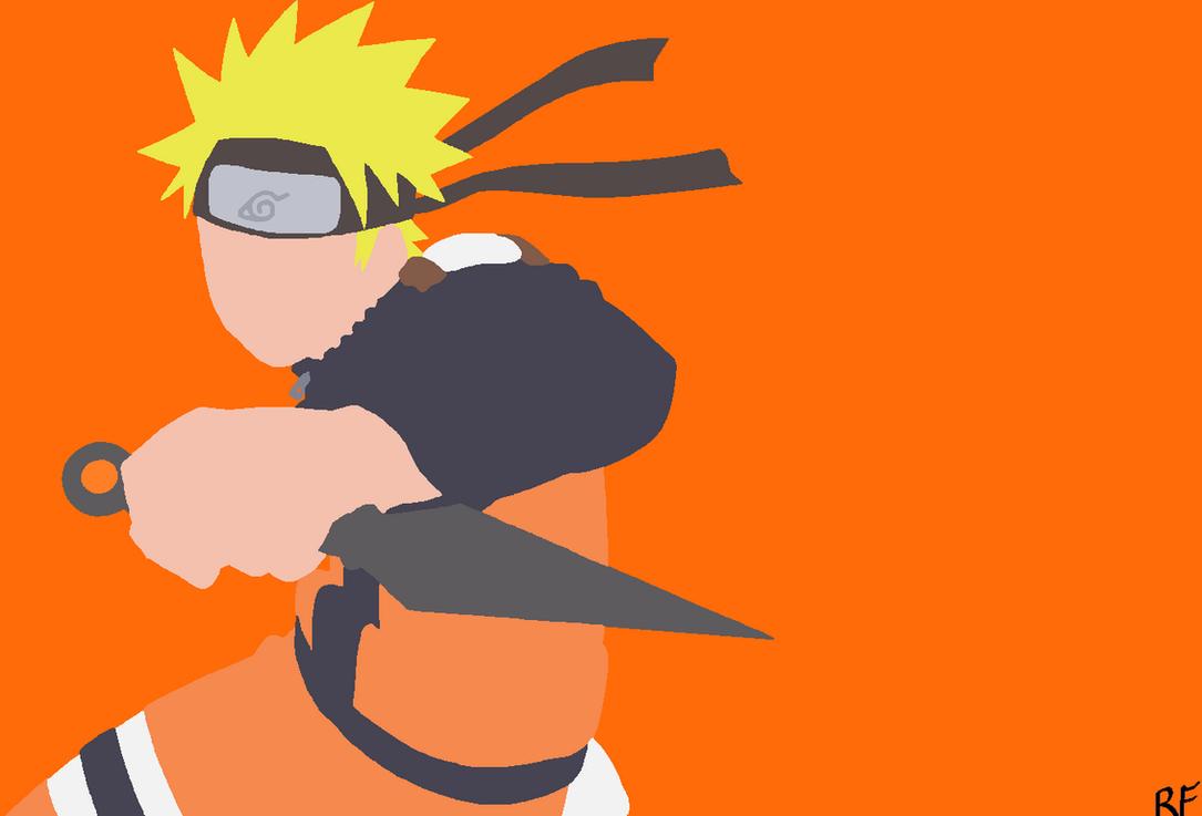 Top Wallpaper Naruto Art - naruto_uzumaki__naruto__minimalist_wallpaper_by_beccaplz-d9ufleo  Collection_21821.png