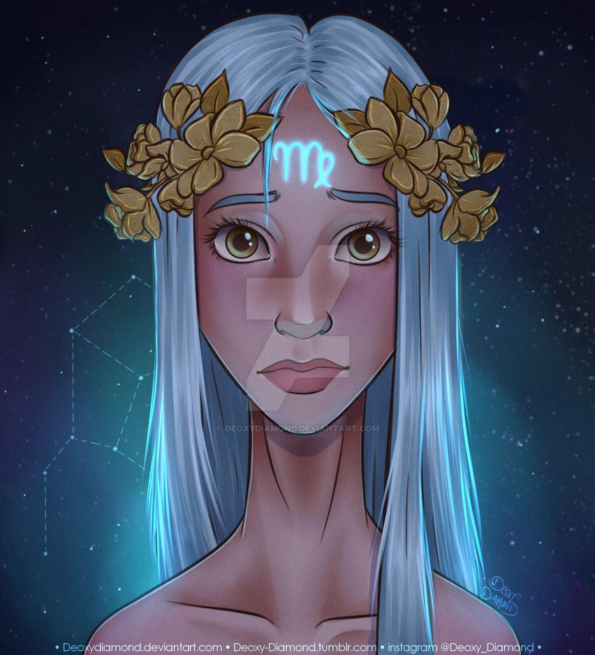 Virgo Zodiac Sign By Deoxydiamond On Deviantart
