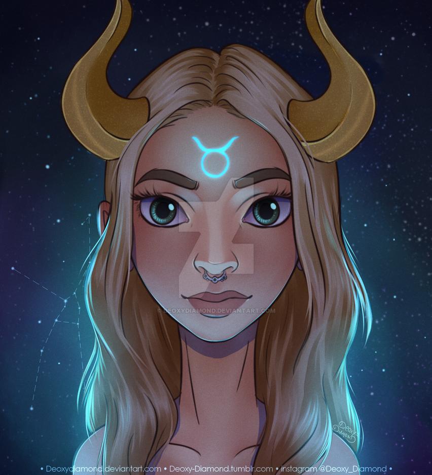 Taurus Wallpaper: Zodiac Sign By DeoxyDiamond On DeviantArt