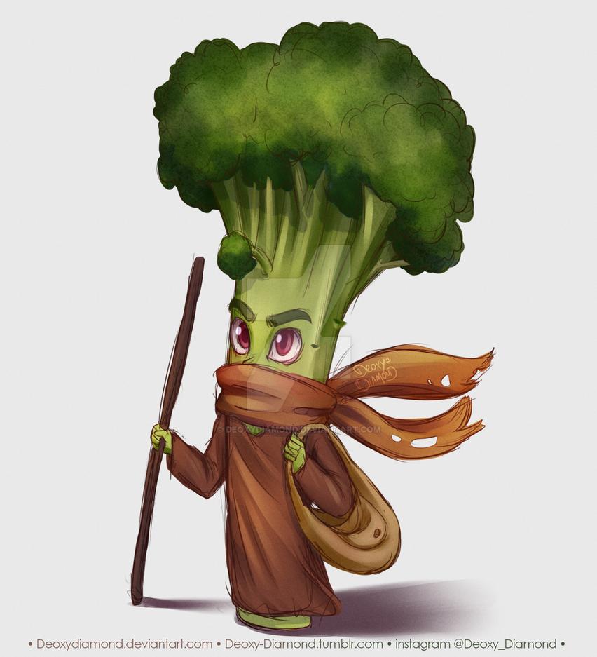 Nomad Broccoli by DeoxyDiamond