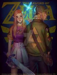 Legend of Zelda - Ocarina of time by DeoxyDiamond